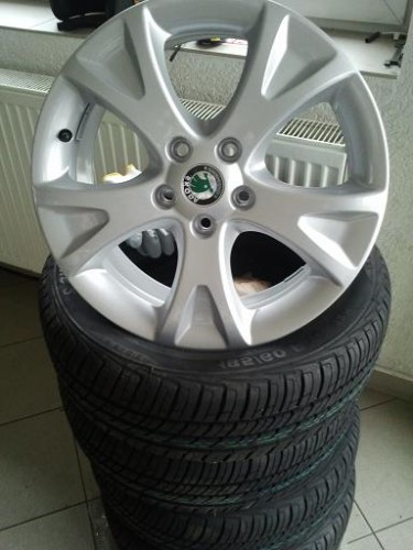 ALU kola s pneumatikami